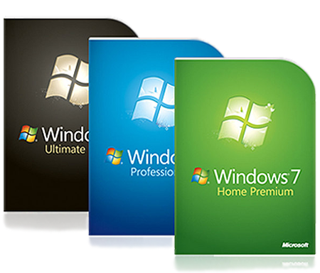 Windows 7 Ultimate Edition и Windows 7 Professional
